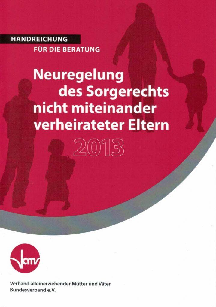 Cover Neuregelung des Sorgerechts
