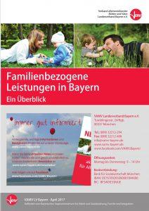 Cover Faltblatt Familienbezogene Leistungen