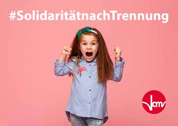 Kindesunterhalt: VAMV fordert Solidarität nach Trennung!