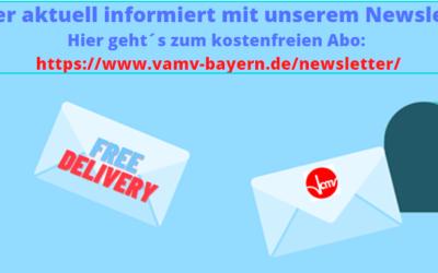 #VAMVBayern: Newsletter – immer aktuell informiert!
