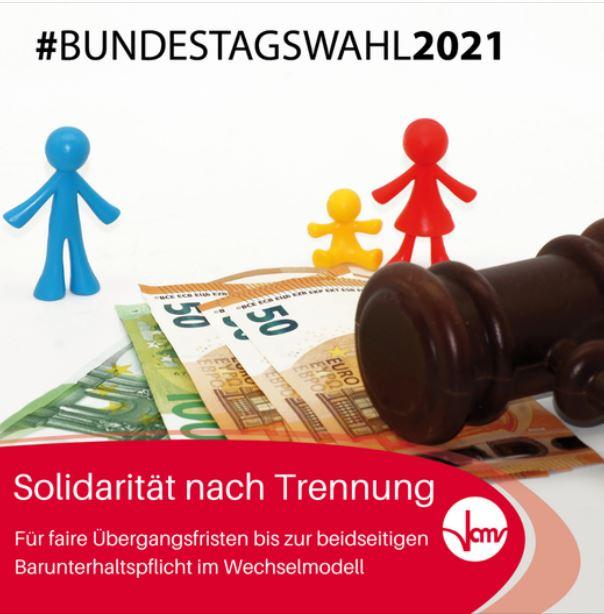 #Bundestagswahl2021: Solidarität nach Trennung
