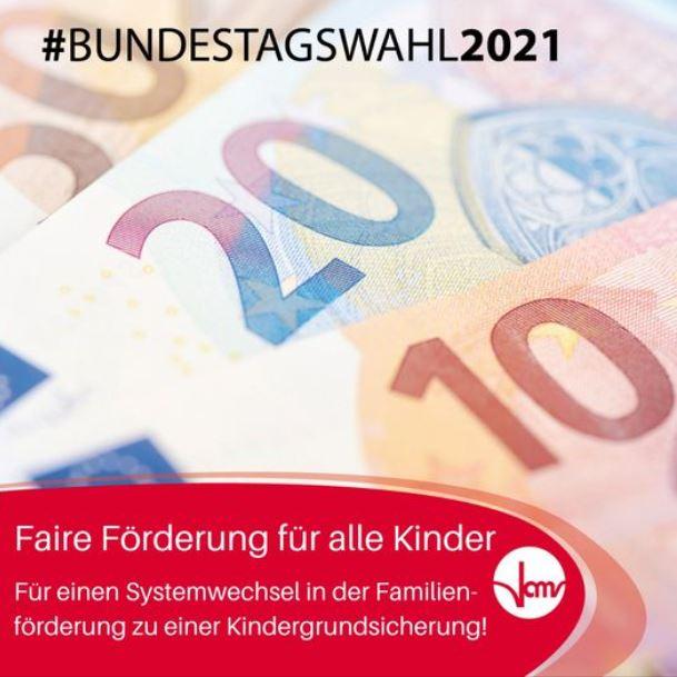 #Bundestagswahl2021: Faire Förderung für alle Kinder!