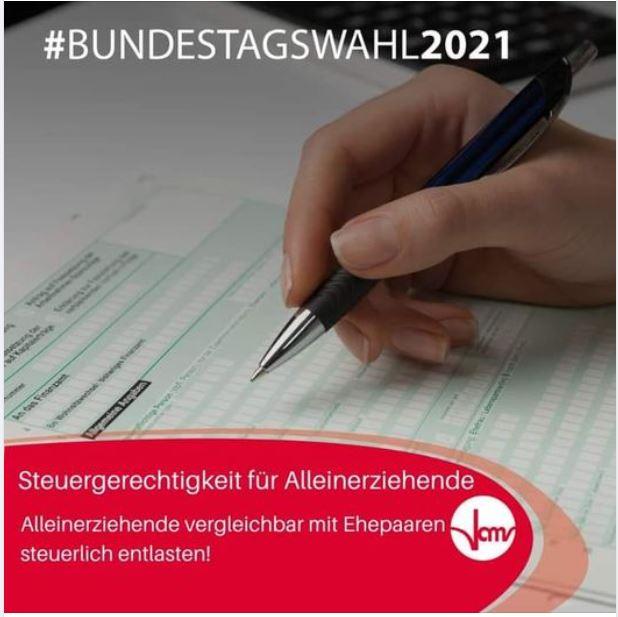 #Bundetagswahl2021: Steuergerechtigkeit für Alleinerziehende