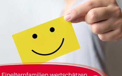 Bundestagswahl2021: Einelternfamilien wertschätzen