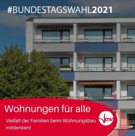 #Bundestagswahl2021: Wohnungen für alle