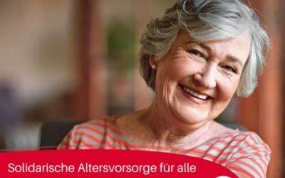 #Bundestagswahl2021: Solidarische Altersvorsorge für alle