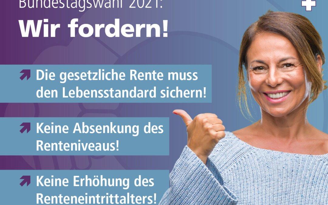 #Bündnis gegen Altersarmut: Die gesetzliche Rente muss den Lebensstandard sichern!