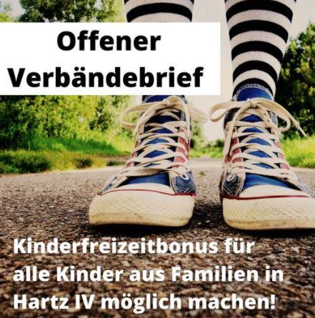 #Kinderfreizeitbonus für alle Kinder in Hartz IV möglich machen