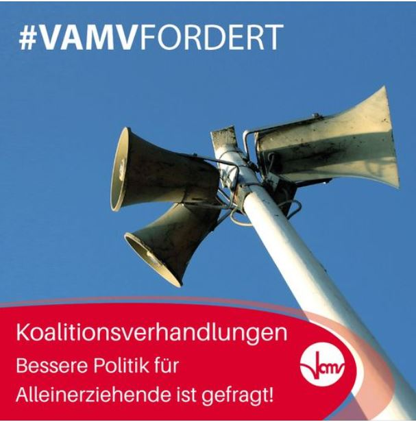 #VAMV: Bessere Politik für Alleinerziehende!